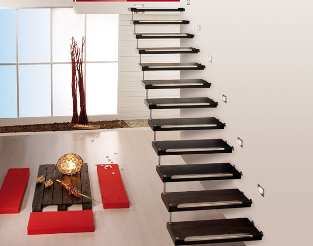 Лестница крепление к стене своими руками